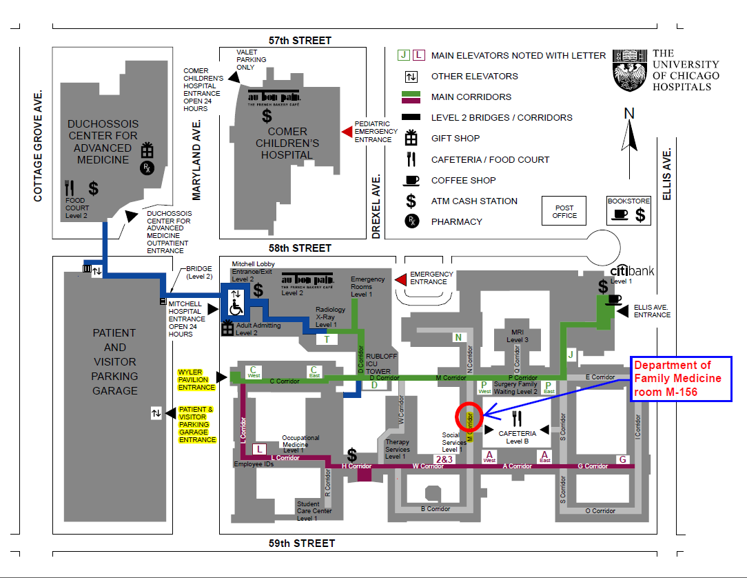 Maps Department Of Family Medicine The University Of Chicago